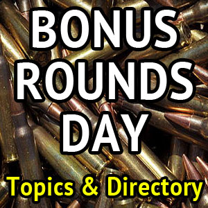 Bonus Rounds Days:  Forum and Directory Bonuses