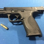 iTarget Pro with Smith & Wesson 9mm